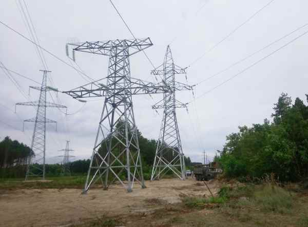 "Technical re-equipment of overhead lines – 110, 35, 10 kV at the transitions of overhead lines 330 kV ""CNPP-Severnaya"""
